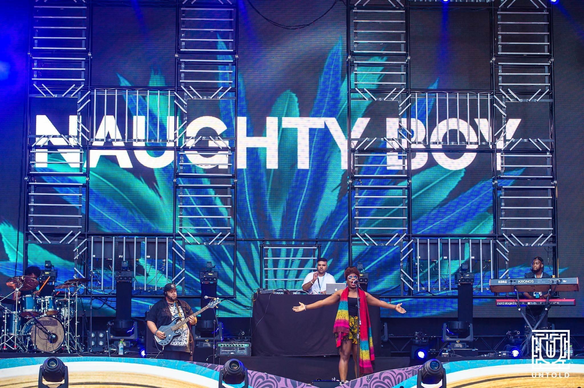 Naughty Boy Show, Romania 2016