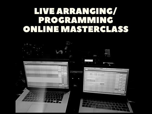 Live Arranging Masterclass VOL.1