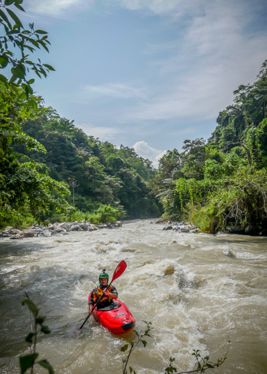 Flo Fischer on the Lamasi River