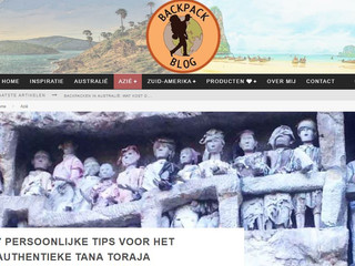 We're featured in backpackblog.nl!