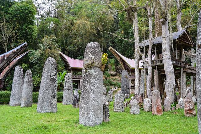 Bori' Kalimbuang, Situs Megalitik Toraja