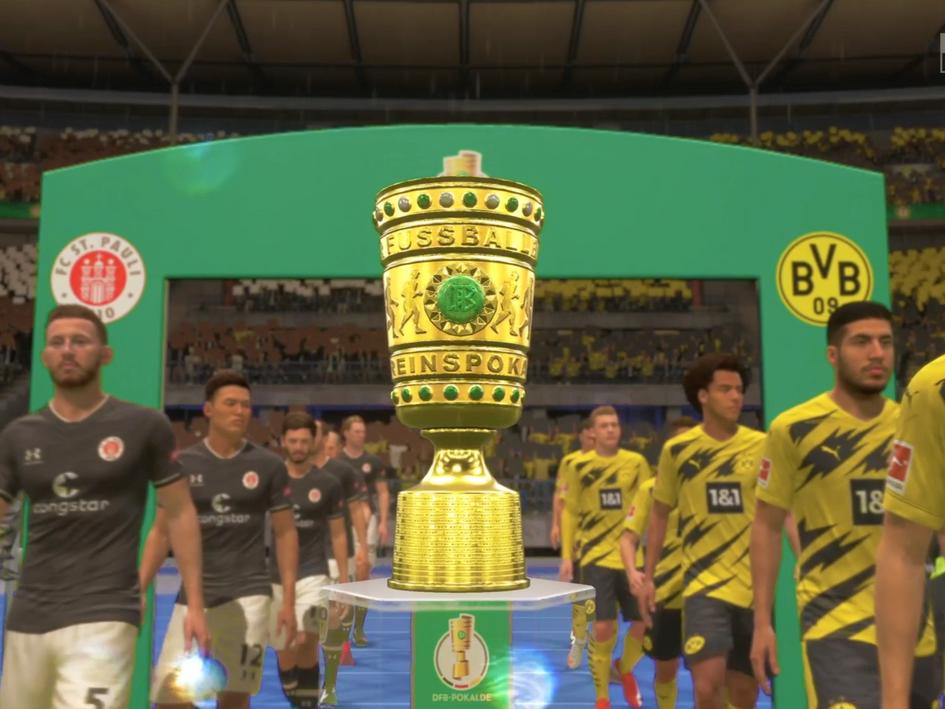 """ERGO """"Presenter e-DFB Pokal 2020/2021"""""""