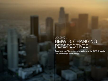 BMW i3 Int. Einführungskampagne