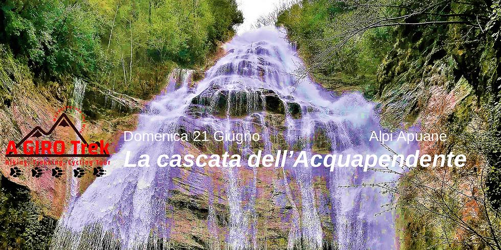 The Acquapendente Waterfall