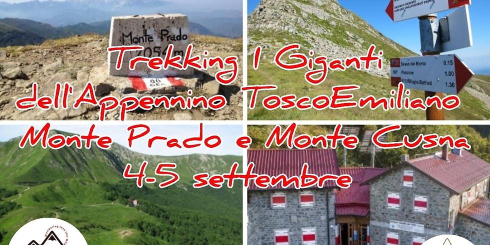 Trekking  I Giganti dell'Appennino ToscoEmiliano