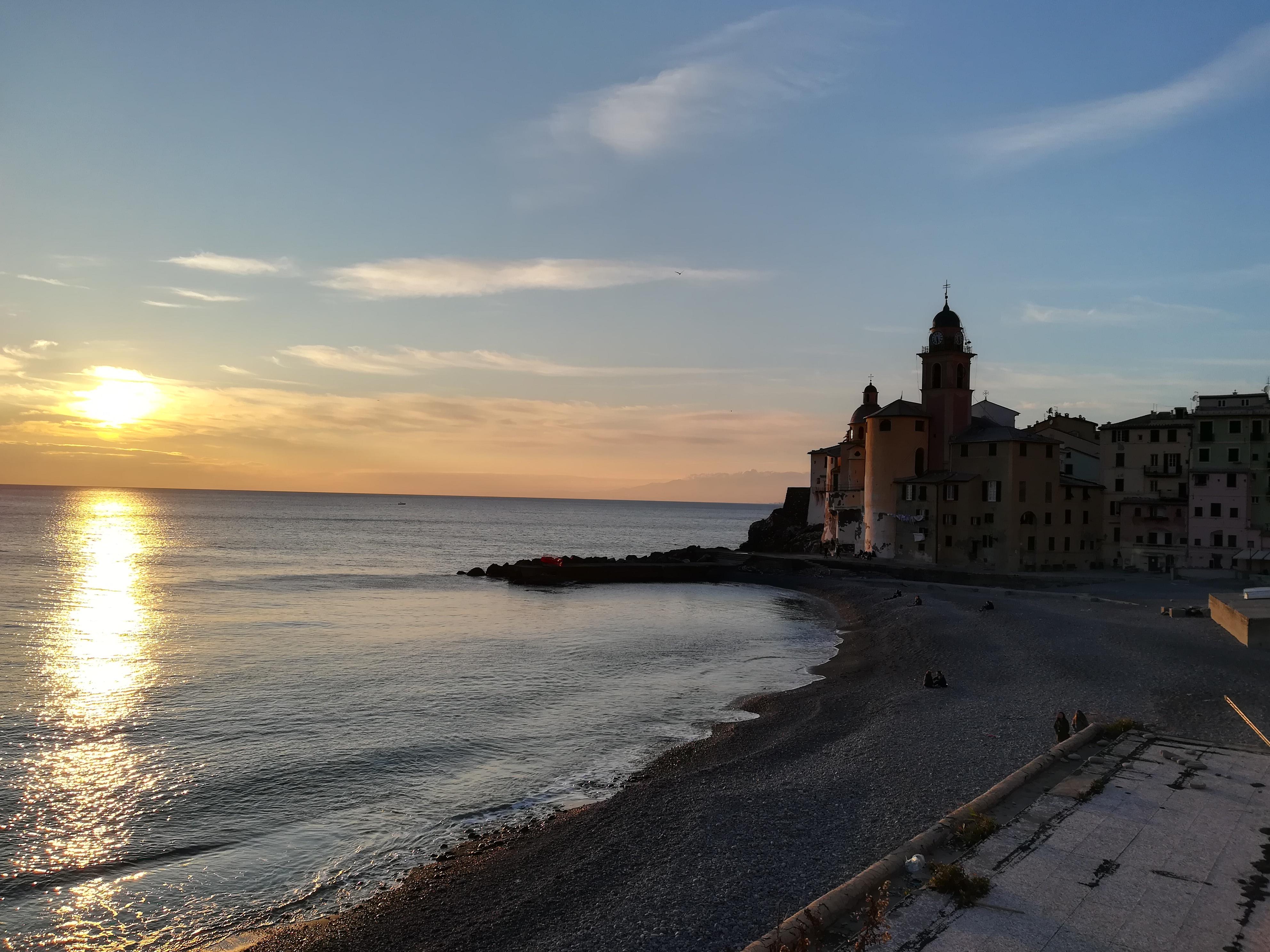 trekking sul mare Camogli, Liguria