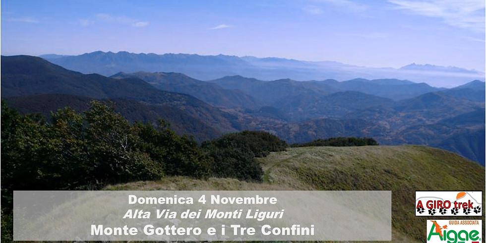 Monte Gottero e i Tre Confini