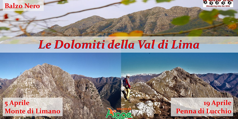 The Dolomites of the Val di Lima