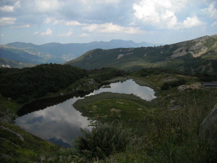 Lago Nero appennino