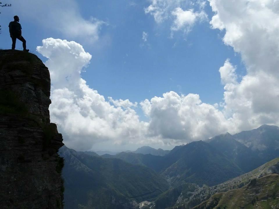 Alpi Apuane panorama