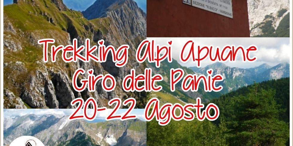 Trekking in Alpi Apuane Giro delle Panie