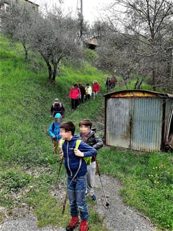 bambini in escursione