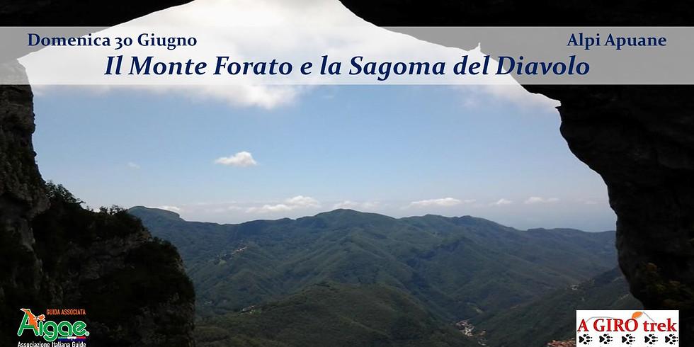 Monte Forato and the Silhouette of the Devil