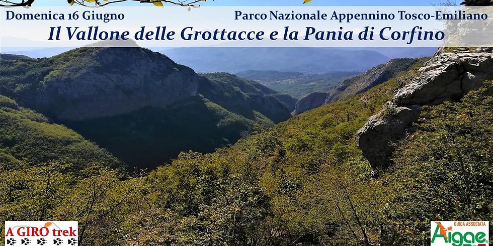 The Vallone delle Grottacce and the Pania di Corfino