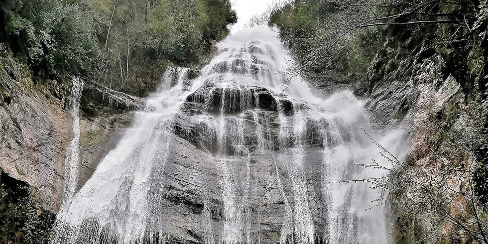 The waterfall of the Acquapendente
