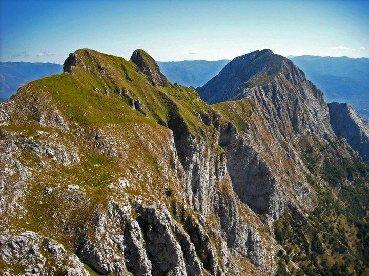 Omo Morto e Pania Secca Alpi Apuane