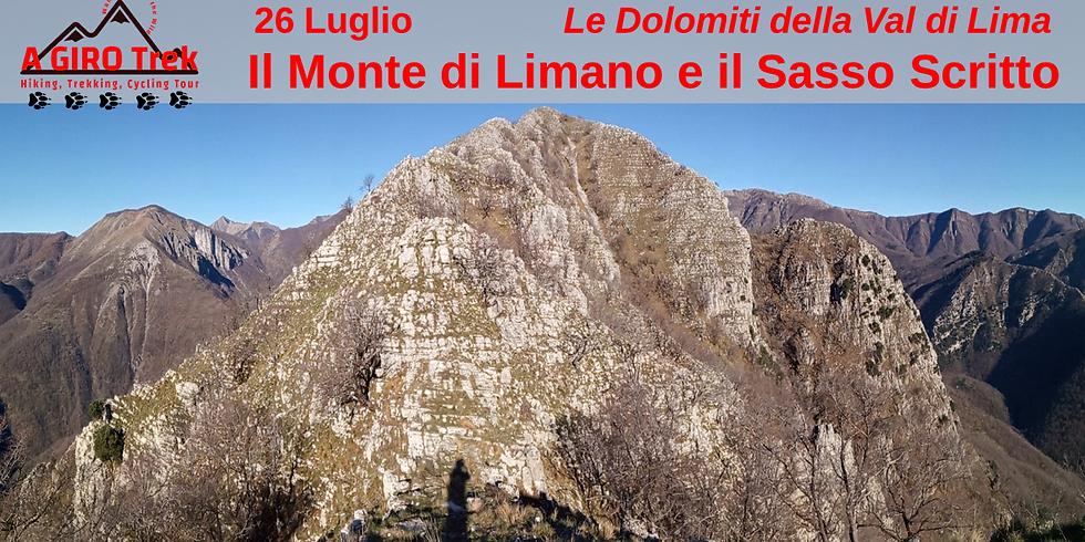 The Monte di Limano and the Sasso Scritto