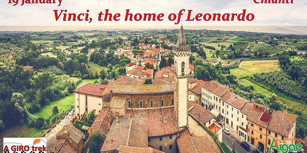 Vinci, the home of Leonardo