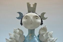 Fatima Morrissey, Isha, face detail, 201