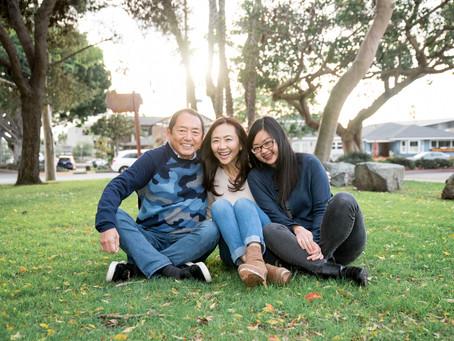大人の家族写真