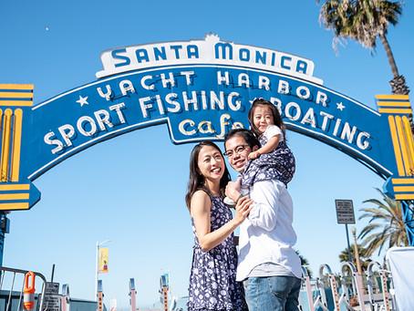 O Family Session in Santa Monica