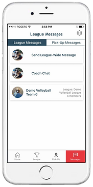 League Communication