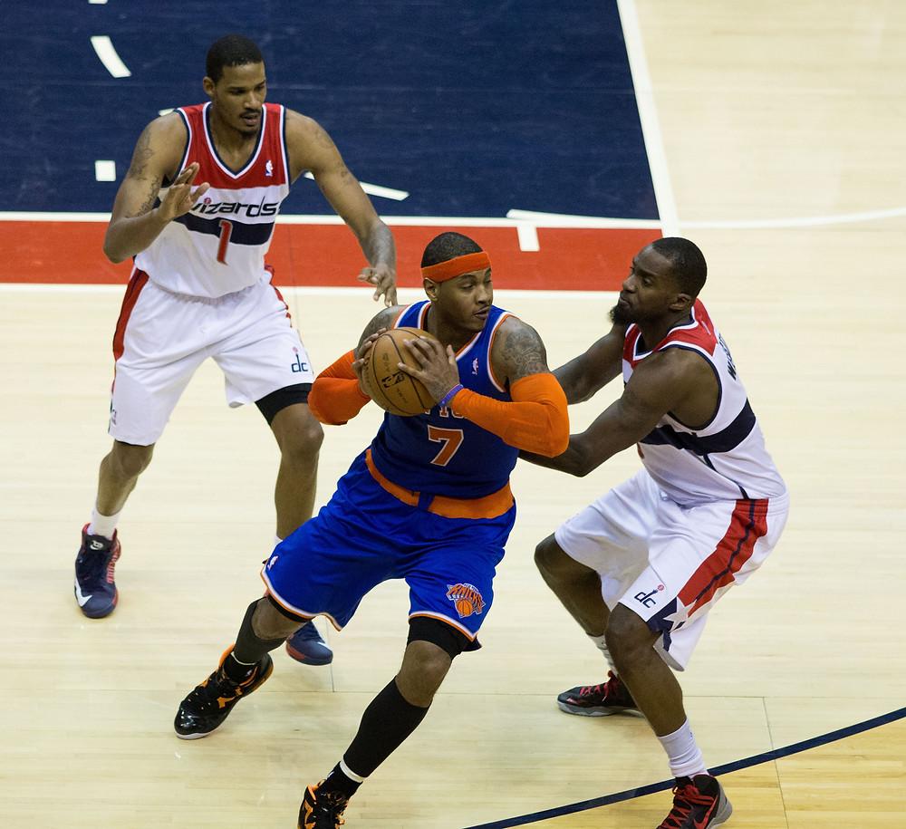Carmelo Anthony injury