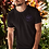 Thumbnail: Black Unisex T-Shirt - Eco-Friendly, sustainable & Biodegradable