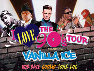 Tonight will be the biggest party in Salina this year! We host the I Love The 90'S Tour tonight