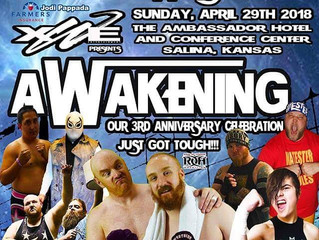 This Sunday at The Ambassador Hotel I will be back in the ring announcing when XWE Entertainment pre