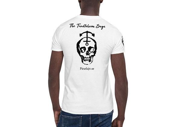 Tundlaheim Unisex T-Shirt med rygg & axel tryck