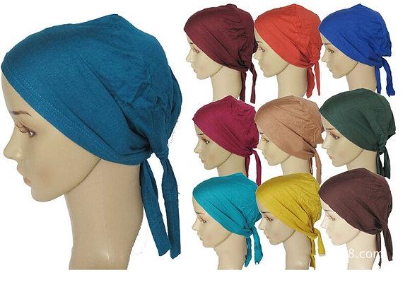 huvudskynke i bomull - finns i en mängd färger