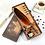 Thumbnail: Vacker fjäderpenna med tillhörande hållare och bläck