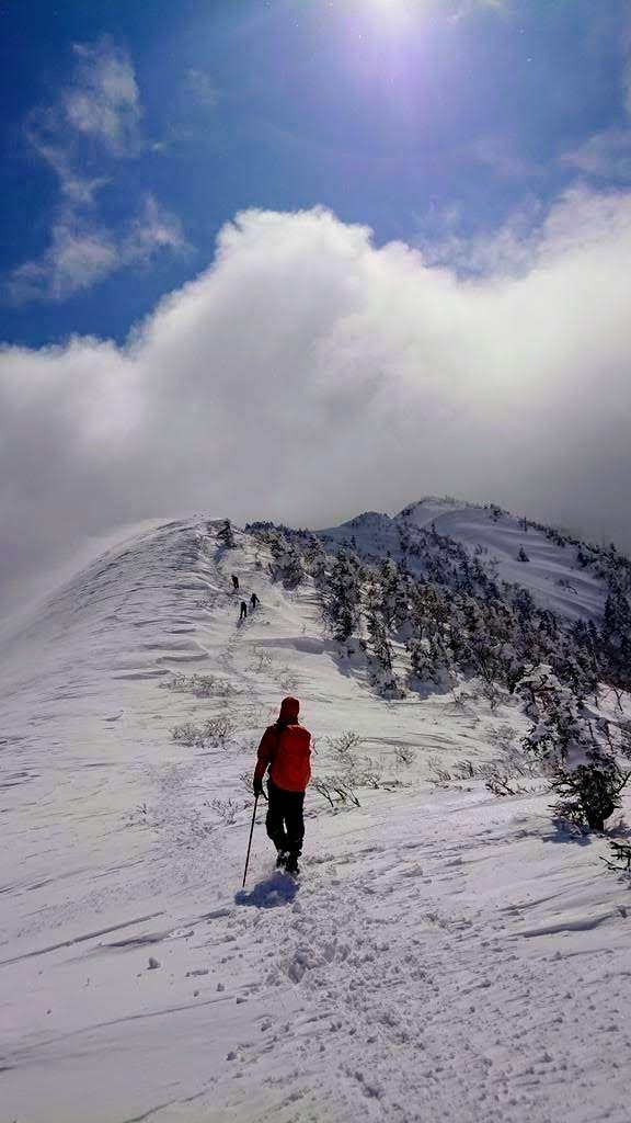 厳冬期の武尊山へ