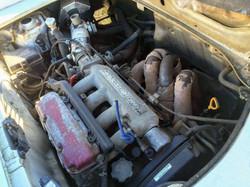 1代目のエンジンはフルバランス。