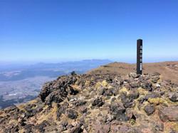 阿蘇山高岳からの九重山