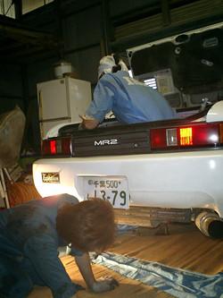 下に潜るのは基本、トランクにも入ります。
