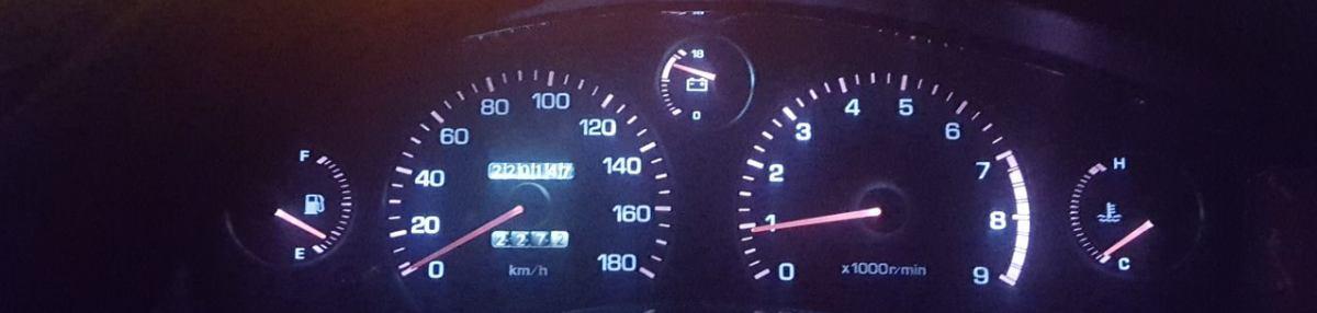 2代目は220,000kmスタート。