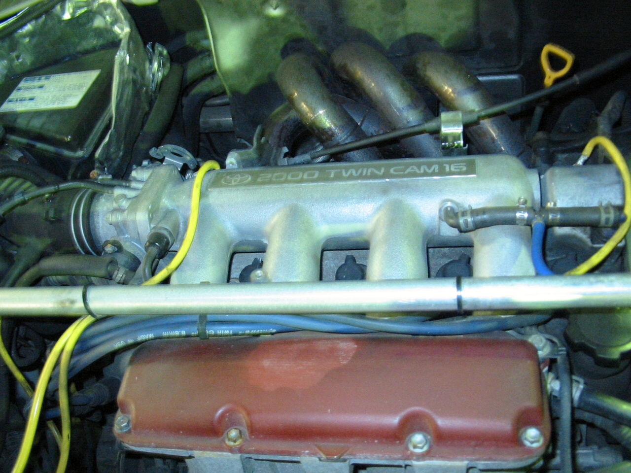 1代目フルバランスエンジン。