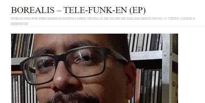 TELE-FUNK-EN on Brazilian indie music press