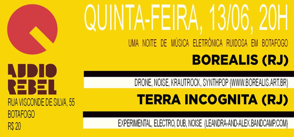 BOREALIS and TERRA INCGONITA live in Rio
