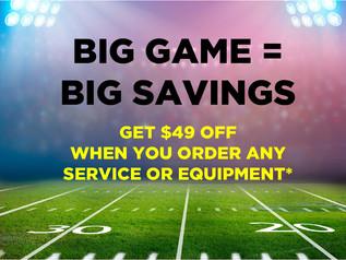 Big Game = Big Savings