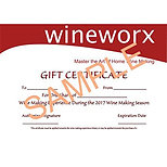 Gift Certificates of Various Amounts