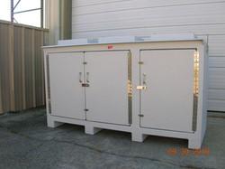 Fiberglass Custom Built Cabinets