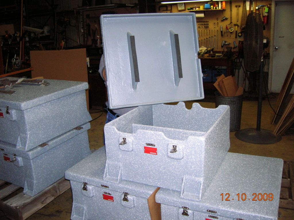 Custom Built Fiberglass Boxes