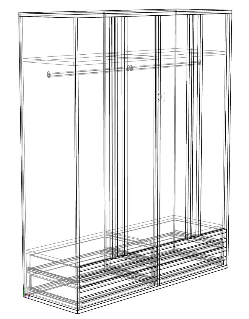 Шкаф 1800