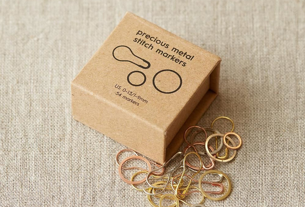 Cocoknits, Precious metal stitchmarkers