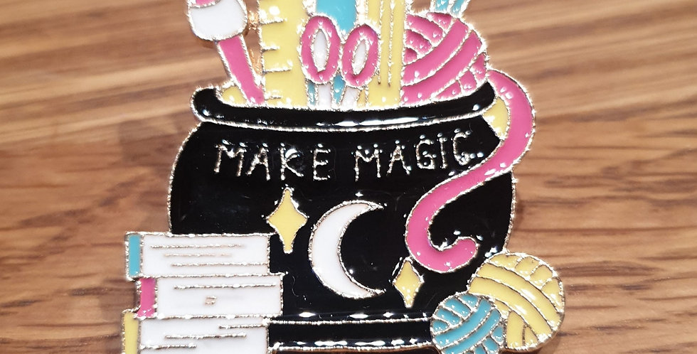Pin, Make magic