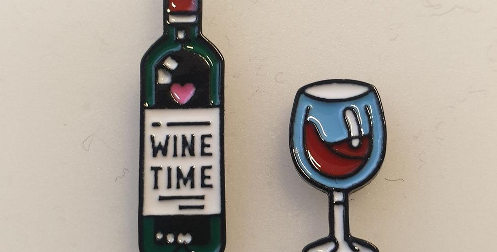 Pin, Wine time