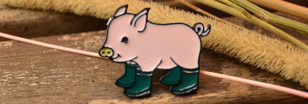 Pin, Gris med grønne støvler
